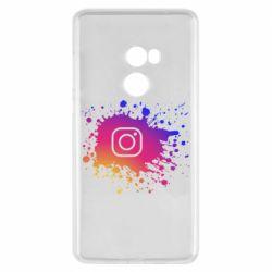 Чехол для Xiaomi Mi Mix 2 Instagram spray