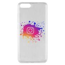 Чехол для Xiaomi Mi Note 3 Instagram spray