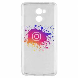 Чехол для Xiaomi Redmi 4 Instagram spray