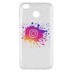 Чехол для Xiaomi Redmi 4x Instagram spray