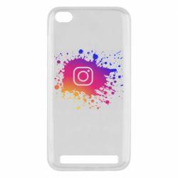 Чехол для Xiaomi Redmi 5A Instagram spray