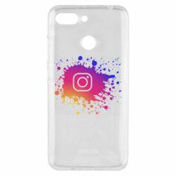 Чехол для Xiaomi Redmi 6 Instagram spray