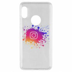 Чехол для Xiaomi Redmi Note 5 Instagram spray
