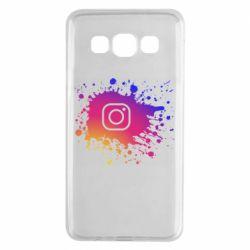 Чехол для Samsung A3 2015 Instagram spray