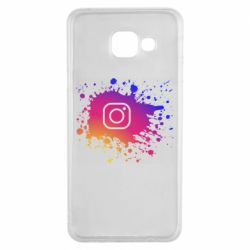 Чехол для Samsung A3 2016 Instagram spray