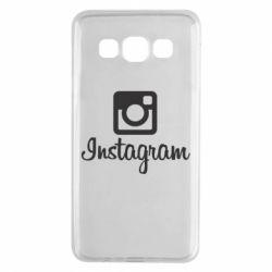 Чехол для Samsung A3 2015 Instagram