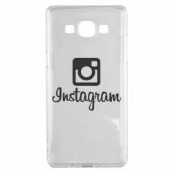 Чехол для Samsung A5 2015 Instagram