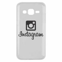 Чехол для Samsung J2 2015 Instagram