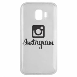 Чехол для Samsung J2 2018 Instagram