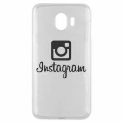 Чехол для Samsung J4 Instagram