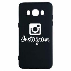Чехол для Samsung J5 2016 Instagram
