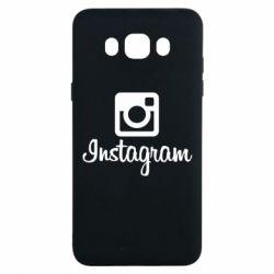 Чехол для Samsung J7 2016 Instagram