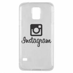 Чехол для Samsung S5 Instagram