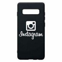 Чохол для Samsung S10+ Instagram