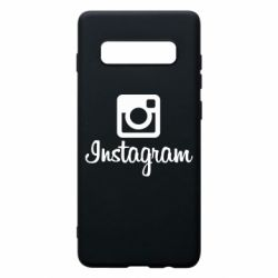 Чехол для Samsung S10+ Instagram