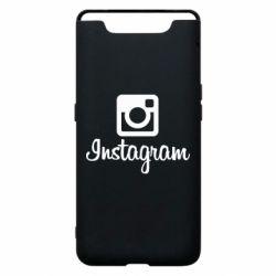 Чехол для Samsung A80 Instagram