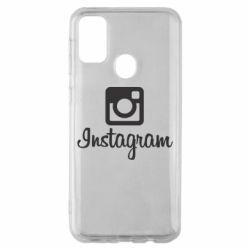 Чехол для Samsung M30s Instagram