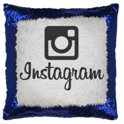 Подушка-хамелеон Instagram