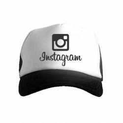 Дитяча кепка-тракер Instagram