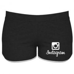 Женские шорты Instagram - FatLine