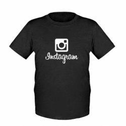 Детская футболка Instagram - FatLine