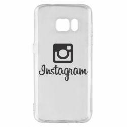 Чохол для Samsung S7 Instagram