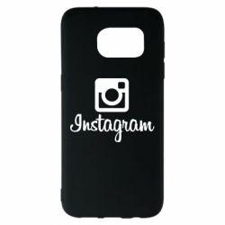 Чехол для Samsung S7 EDGE Instagram