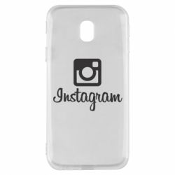 Чехол для Samsung J3 2017 Instagram