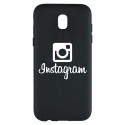 Чехол для Samsung J5 2017 Instagram