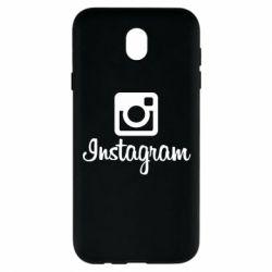 Чехол для Samsung J7 2017 Instagram