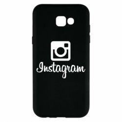 Чехол для Samsung A7 2017 Instagram
