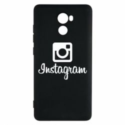 Чохол для Xiaomi Redmi 4 Instagram