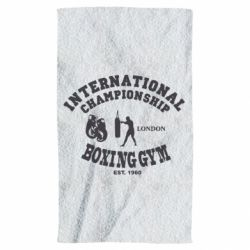 Полотенце International Championship Boxing Gym London