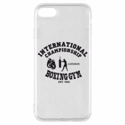 Чехол для iPhone 7 International Championship Boxing Gym London