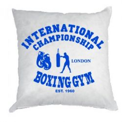 Подушка International Championship Boxing Gym London - FatLine