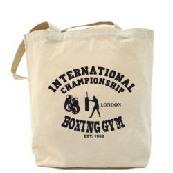 Сумка International Championship Boxing Gym London - FatLine