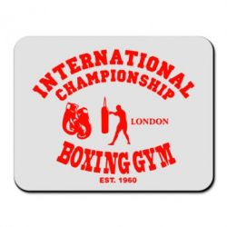 Коврик для мыши International Championship Boxing Gym London