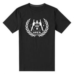 Мужская стрейчевая футболка International Project Evangelion Agency