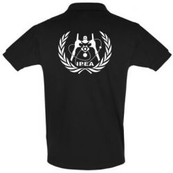 Мужская футболка поло International Project Evangelion Agency