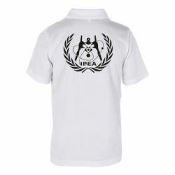 Детская футболка поло International Project Evangelion Agency