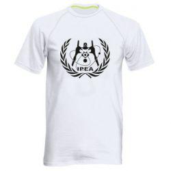 Мужская спортивная футболка International Project Evangelion Agency