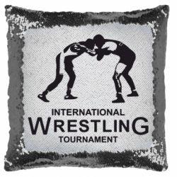 Подушка-хамелеон International Tournament Wrestling