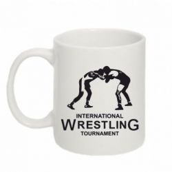 Кружка 320ml International Wrestling Tournament - FatLine