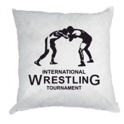 Подушка International Wrestling Tournament