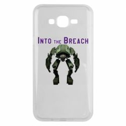 Чехол для Samsung J7 2015 Into the Breach roboi