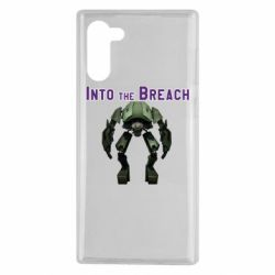 Чехол для Samsung Note 10 Into the Breach roboi