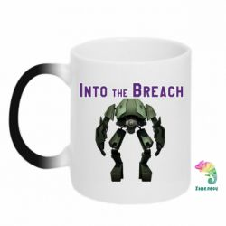 Кружка-хамелеон Into the Breach roboi