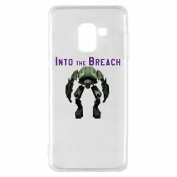 Чехол для Samsung A8 2018 Into the Breach roboi