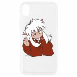 Чехол для iPhone XR InuYasha