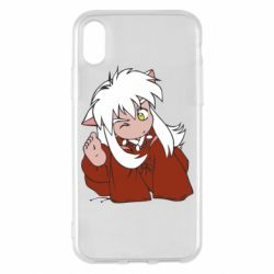 Чехол для iPhone X/Xs InuYasha
